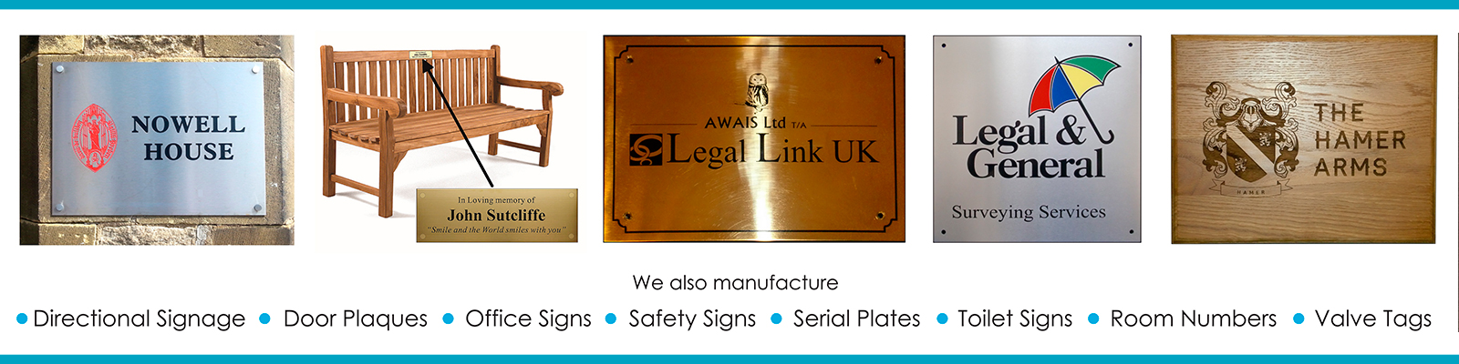 Impressions Engraving - Directional Signage, Door Plaques, Office Signs, Safety Signs, Serial Plates, Toilet Signs, Room Numbers, Valve Tags