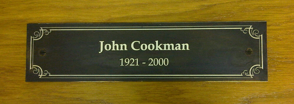 Memorial plaques will be professionally designed