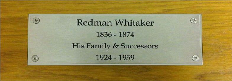 Memorial plaques are created to our customers' specification