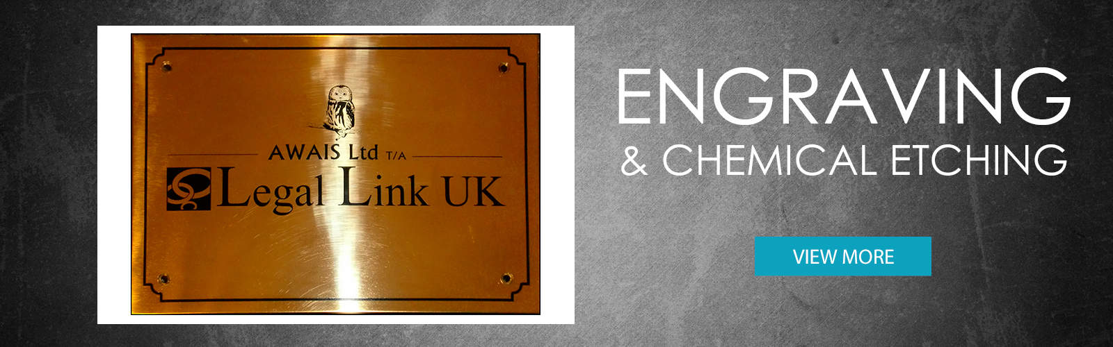 Engraving and Chemical Etching. Entire design and manufacturing service for engraved plaques, signs and labels