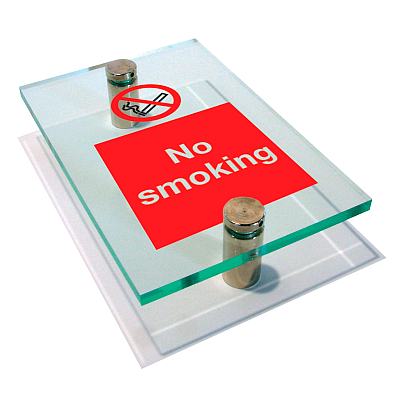 Acrylic health and safety signs and plaques engraved